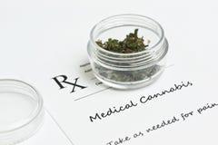 Medische marihuana Stock Afbeelding