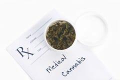 Medische marihuana Stock Fotografie