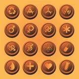 Medische pictogrammen Stock Afbeelding