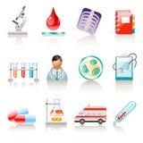 Medische pictogrammen Stock Afbeeldingen