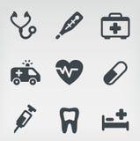 Medische pictogramreeks Royalty-vrije Illustratie