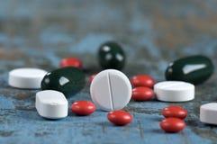 Medische pillen Royalty-vrije Stock Afbeeldingen