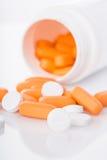 Medische pillen Royalty-vrije Stock Afbeelding