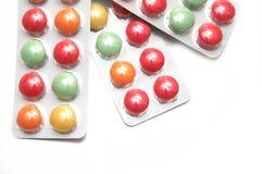 Medische pillen stock afbeelding