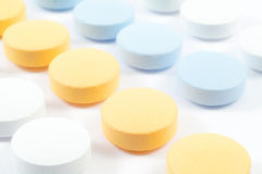 Medische pillen en drugs Stock Foto