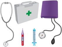 Medische punten Stock Illustratie