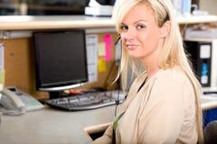 Medische Receptionnist stock foto's