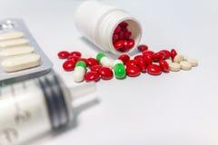 Medische samengebrachte drugs royalty-vrije stock fotografie