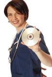 Medische schijf Stock Afbeeldingen
