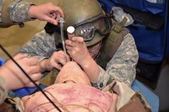 Medische simulatie in niveau 1 Stock Fotografie