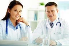 Medische specialisten Stock Foto's
