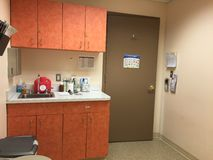 Medische spreekkamer Stock Afbeelding