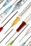 Medische - Spuiten en Naalden - Injecties Stock Afbeelding