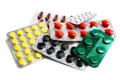 Medische tabletten Stock Foto's