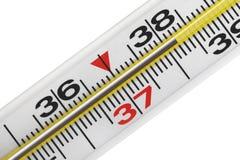 Medische thermometer. Stock Foto