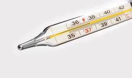 Medische thermometer Stock Foto