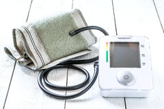 Medische tonometer voor het meten van bloeddruk Royalty-vrije Stock Foto's