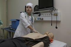 Medische universitaire examens stock afbeeldingen