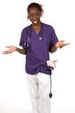 Medische Verpleegster Stock Afbeelding