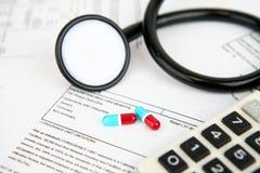 Medische Verzekering stock foto