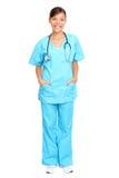 Medische vrouwenverpleegster Royalty-vrije Stock Afbeeldingen