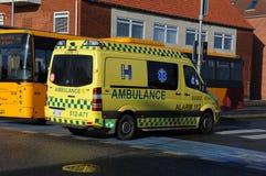Medische ziekenwagen Stock Foto's