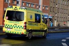 Medische ziekenwagen Royalty-vrije Stock Afbeelding