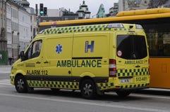 Medische ziekenwagen royalty-vrije stock foto's