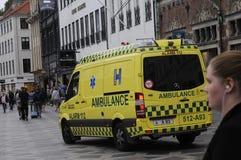 Medische ziekenwagen royalty-vrije stock foto