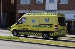 Medische ziekenwagen stock afbeeldingen