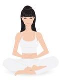 Meditação da ioga Fotos de Stock