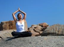 Meditação da ioga Fotografia de Stock Royalty Free