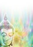 Meditação do Mindfulness da Buda ilustração royalty free