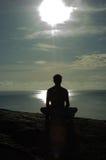 Meditación foto de archivo