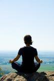 Meditación Fotografía de archivo libre de regalías
