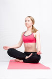 Meditación Imagen de archivo