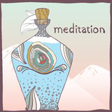 meditación Imagenes de archivo