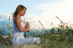 Meditación. Fotos de archivo libres de regalías