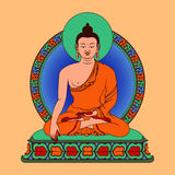 Meditación Buda Imagen de archivo