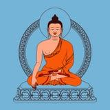 Meditación Buda Foto de archivo