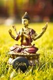Meditación de Buda Imagen de archivo libre de regalías