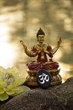 Meditación de Buda Foto de archivo libre de regalías