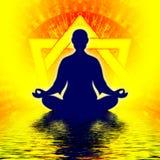 Meditación del heptágono libre illustration