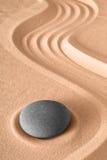 Meditación del jardín del zen Fotos de archivo libres de regalías