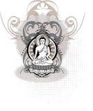Meditación detallada Fotos de archivo