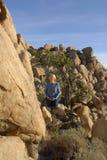Meditación en paisaje Imagen de archivo libre de regalías