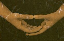Meditación mística   Imágenes de archivo libres de regalías