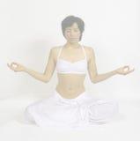 Meditación profunda Imagen de archivo libre de regalías