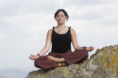 Meditación Fotografía de archivo
