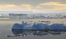 Meditación antártica Imagenes de archivo